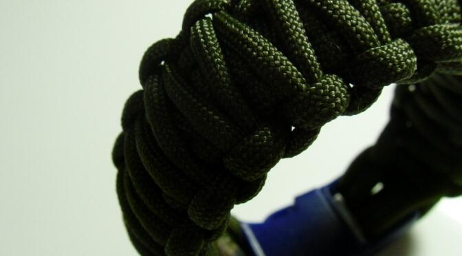 "Armband Knoten Anleitung – ""Double Cobra"""