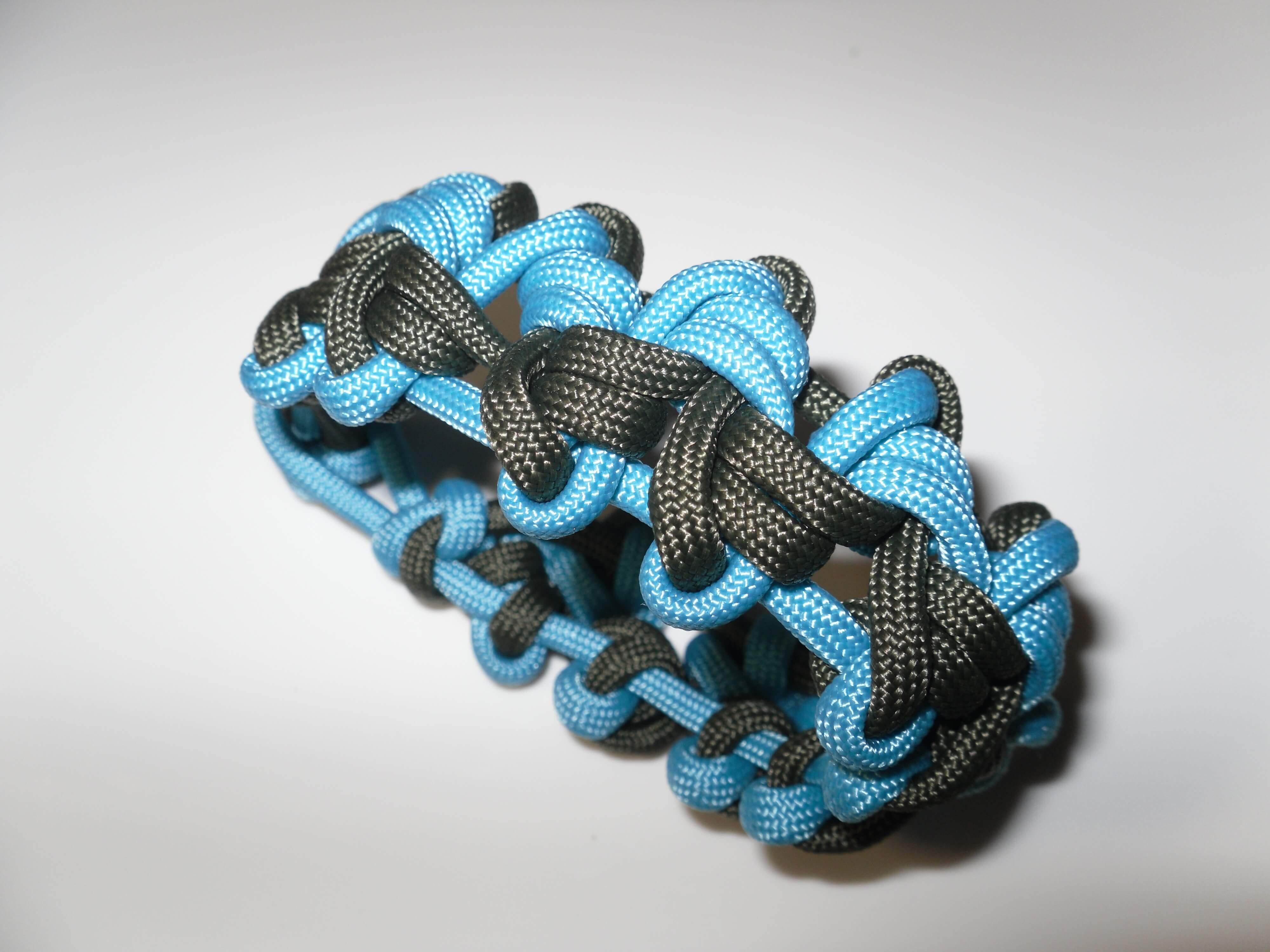 Beliebt Ein neues cooles Paracord Armband knüpfen WY13