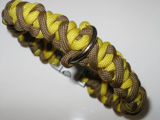 "Paracord Hundehalsband ""Crooked River Bar"" jetzt selber knoten"