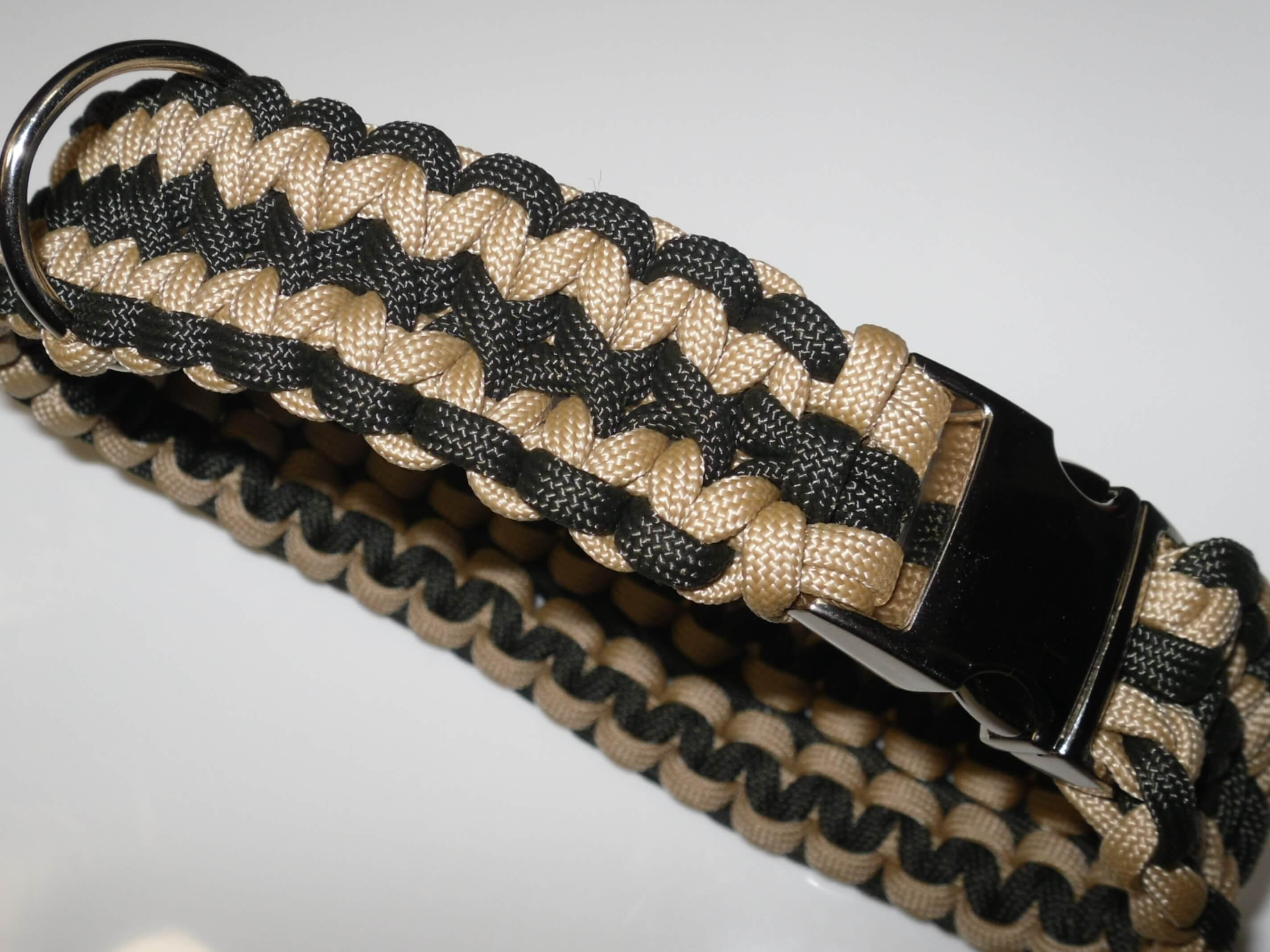 Extrem Eine neue Paracord Halsband Anleitung - breites Halsband JN11